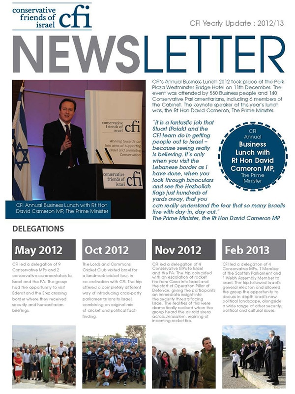 CFI Newsletter 2012