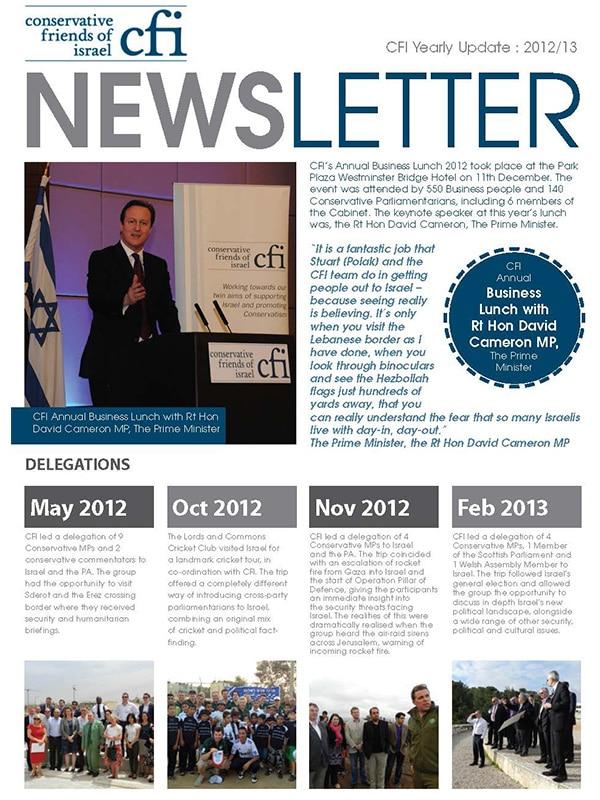 CFI Newsletter 2012