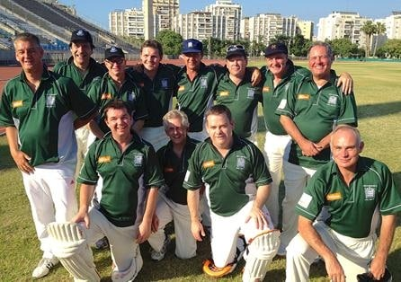 Lords and Commons Cricket Club in Tel Aviv