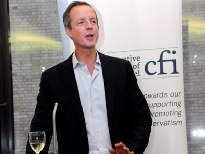 Nick Boles MP addresses CFI Annual Members Reception