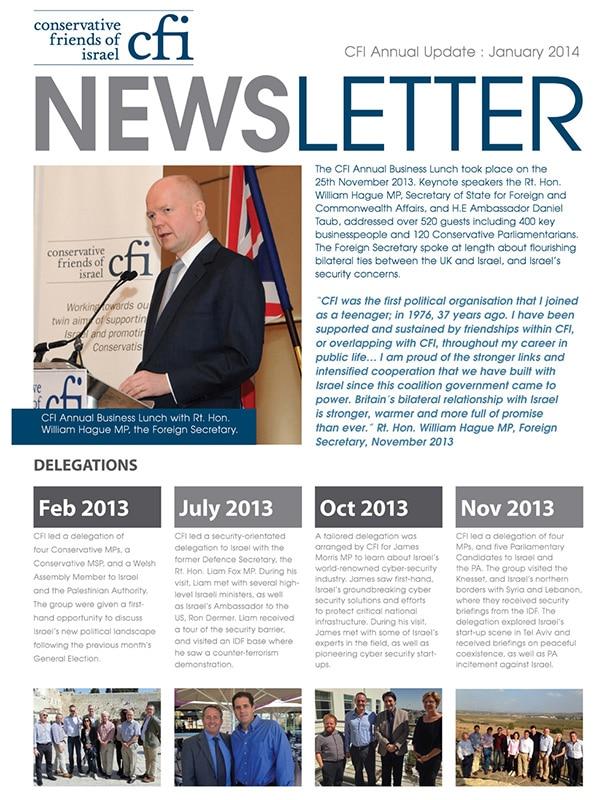 CFI Newsletter 2013