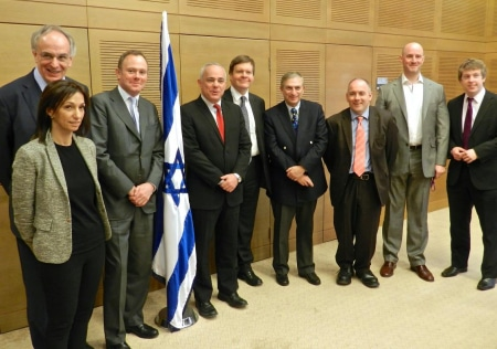 CFI Delegation with Israel's Intelligence Minister, Yuval Steinitz