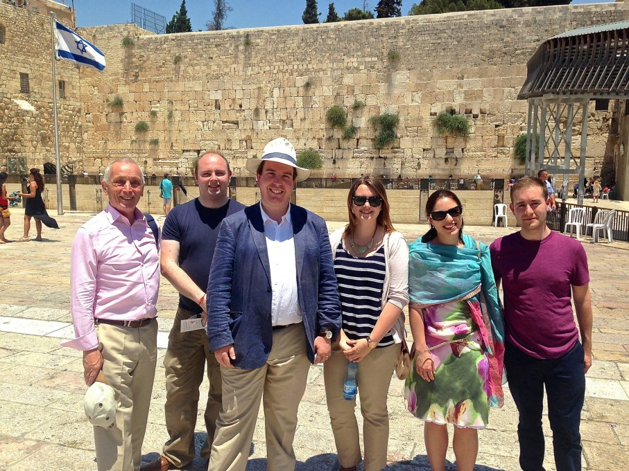CFI Delegation at Western Wall, Jerusalem
