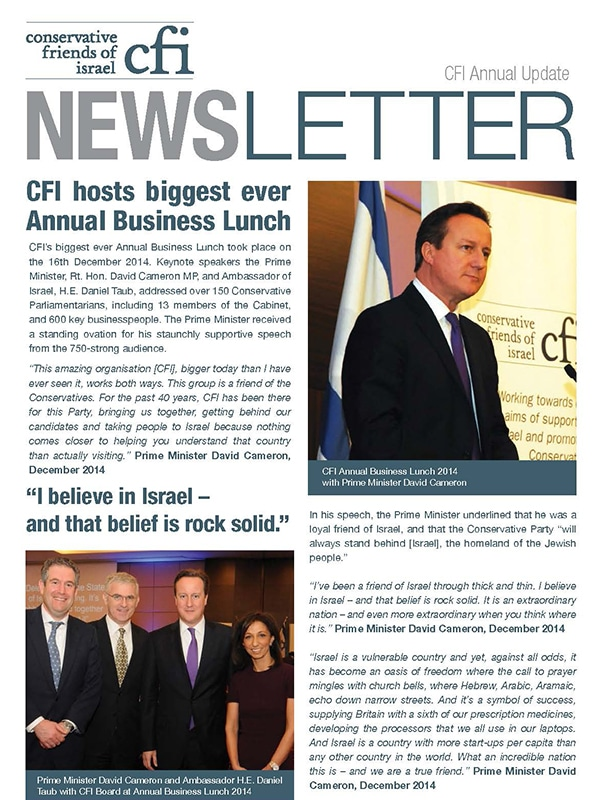 CFI Newsletter 2014