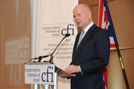 Foreign Secretary William Hague addresses CFI Annual Members Reception
