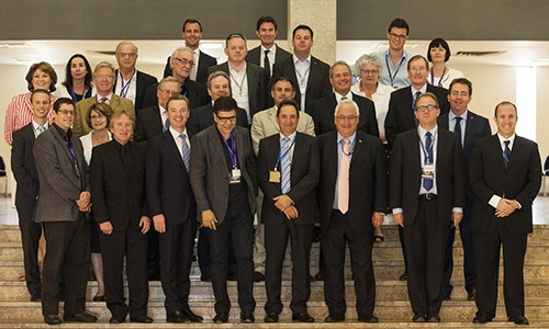 AIULD Delegation in the Knesset, Jerusalem