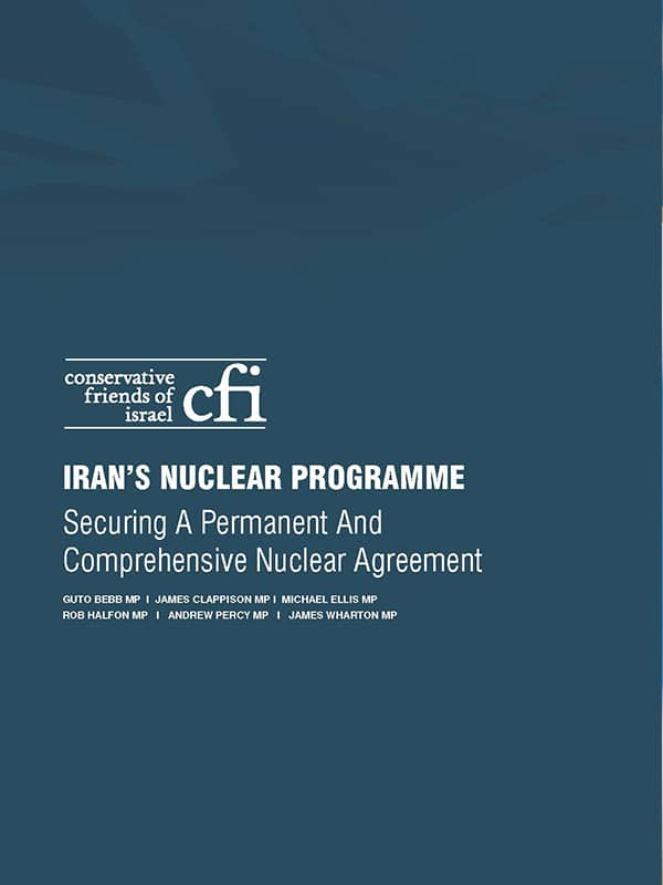CFI Report: Iran's Nuclear Programme