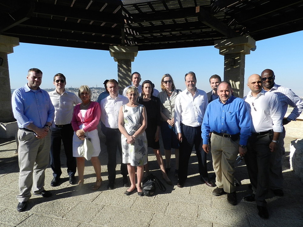 CFI Delegation in Jerusalem