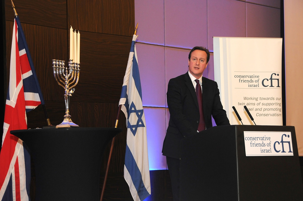 Prime Minister David Cameron addresses CFI Annual Business Lunch