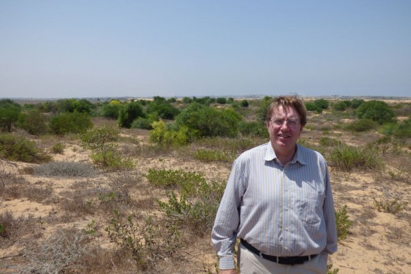 John Howell MP at the Gaza border