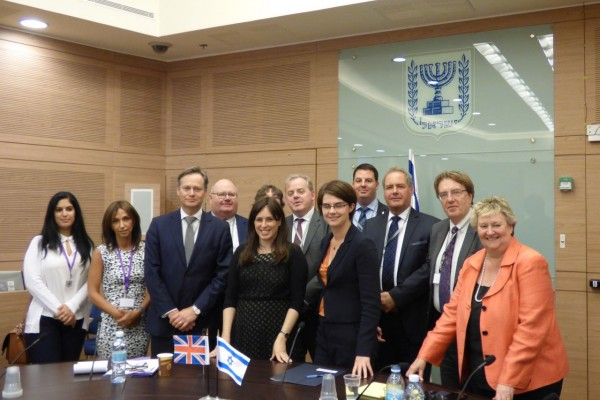 CFI Delegation with Israel's Deputy Foreign Minister, Tzipi Hotovely