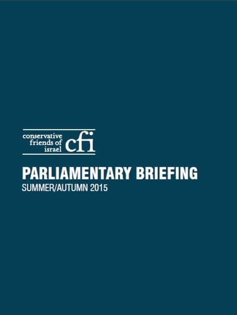 CFI Parliamentary Briefing Summer/Autumn 2015