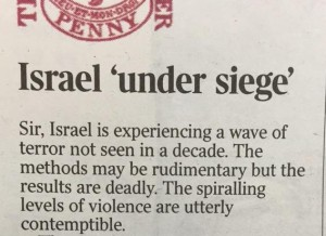 The Times letter