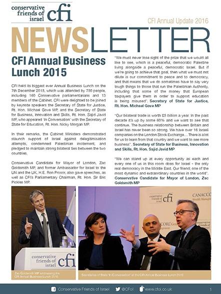 CFI Annual Update 2016