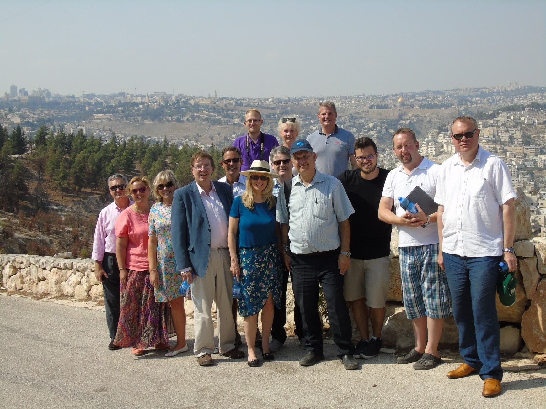 August 2016: CFI coordinates ninth delegation to Israel since 2015 General Election