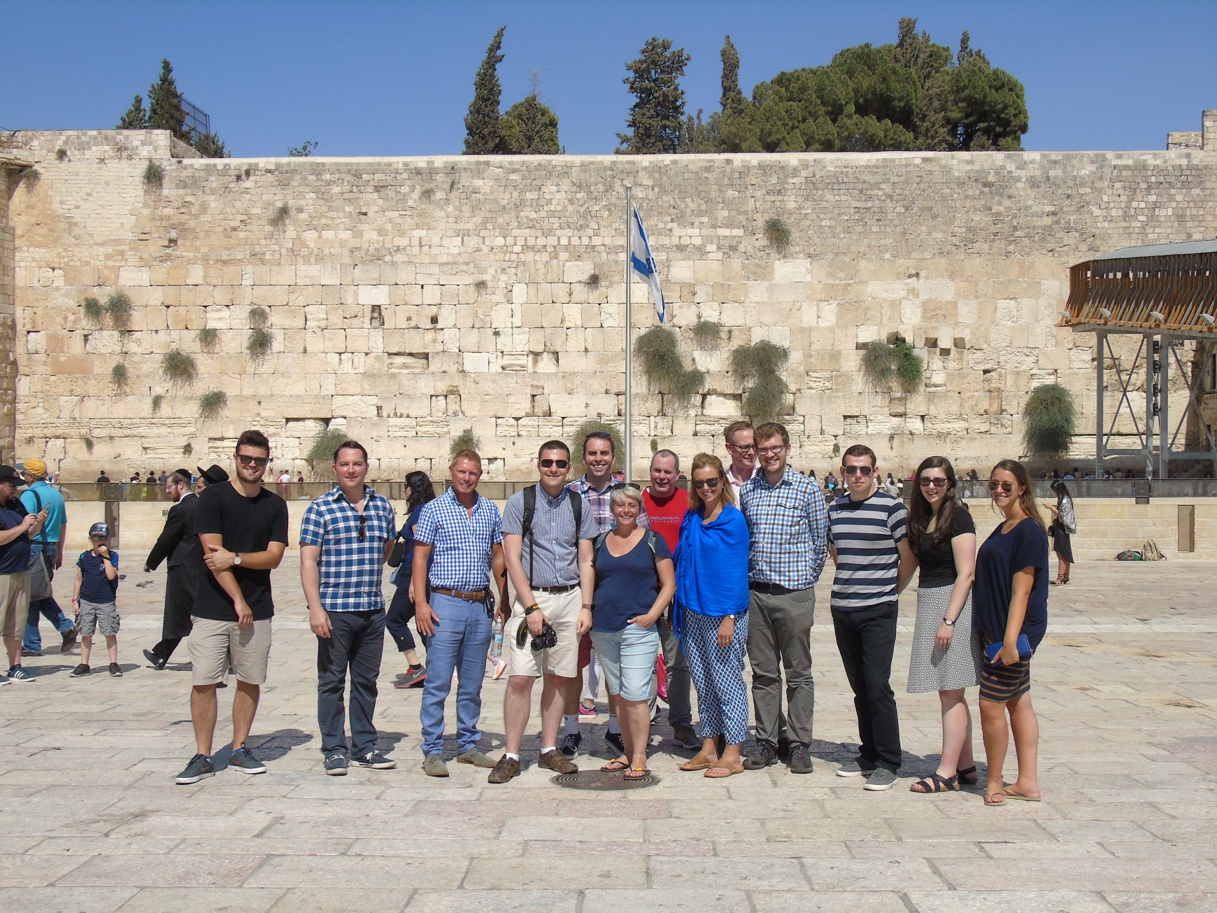 August 2016: CFI leads first ever delegation of Scottish Conservatives to Israel
