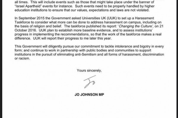 Jo Johnson letter Feb 2017 2