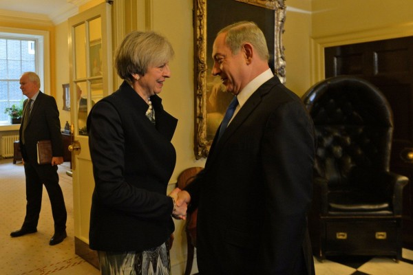 Theresa May Netanyahu 10