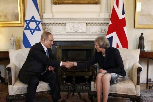 Theresa May Netanyahu 7