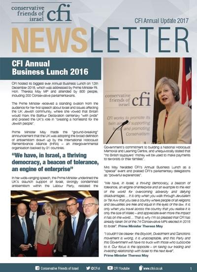CFI Annual Update 2017
