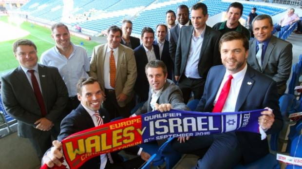 Stephen Crabb SoS Wales Israel 2015