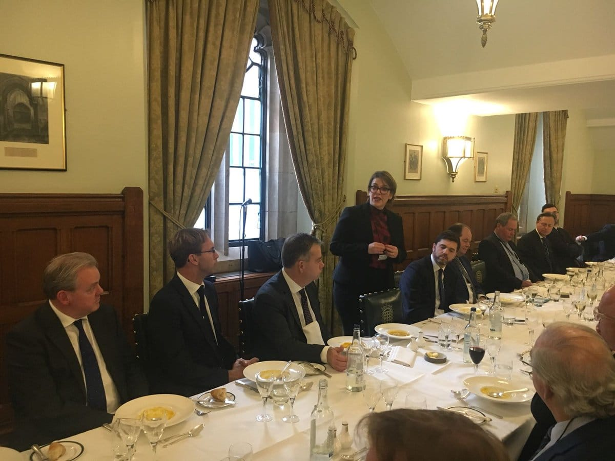 40 Conservative MPs and Lords attend CFI lunch with Deputy Israeli Ambassador