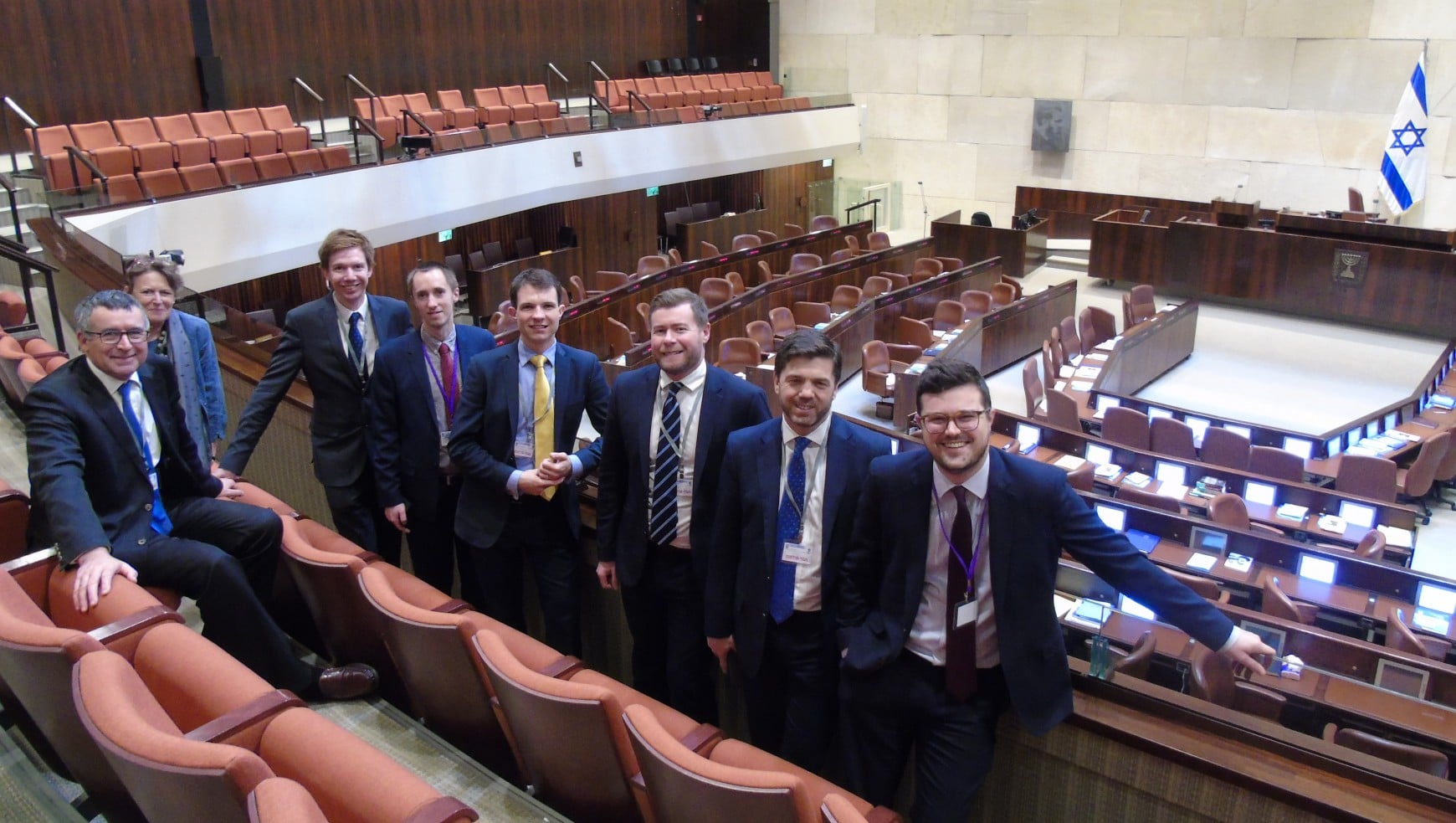 FEBRUARY 2018: CFI COORDINATES PARLIAMENTARY DELEGATION TO ISRAEL