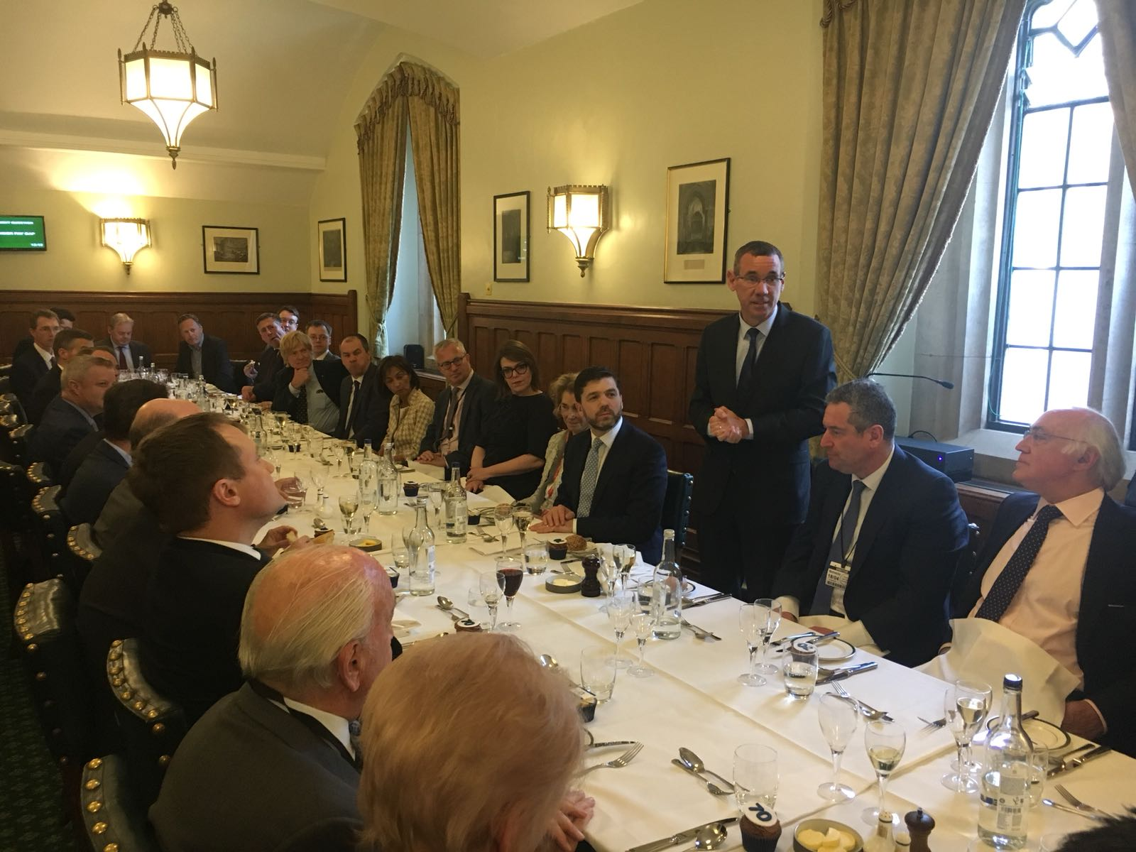 50 Conservative parliamentarians attend Yom Ha'atzmaut lunch with Ambassador Regev