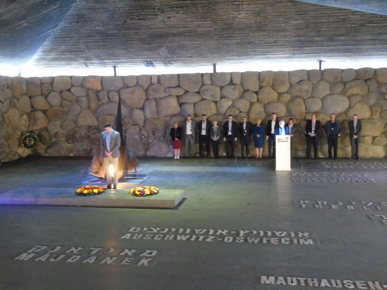 Conservative MPs commemorate Yom Hashoah in Israel on CFI delegation