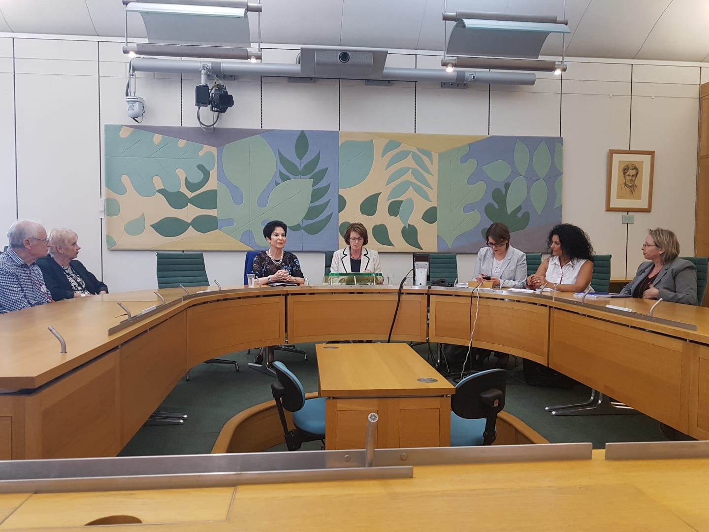 Parliamentarians attend CFI-LFI event with Chairwoman of WIZO Prof Rivka Lazovsky