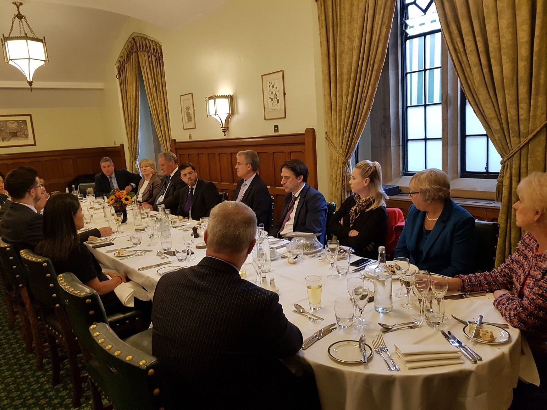 Conservative MPs and Peers attend OurCrowd lunch briefing in Parliament