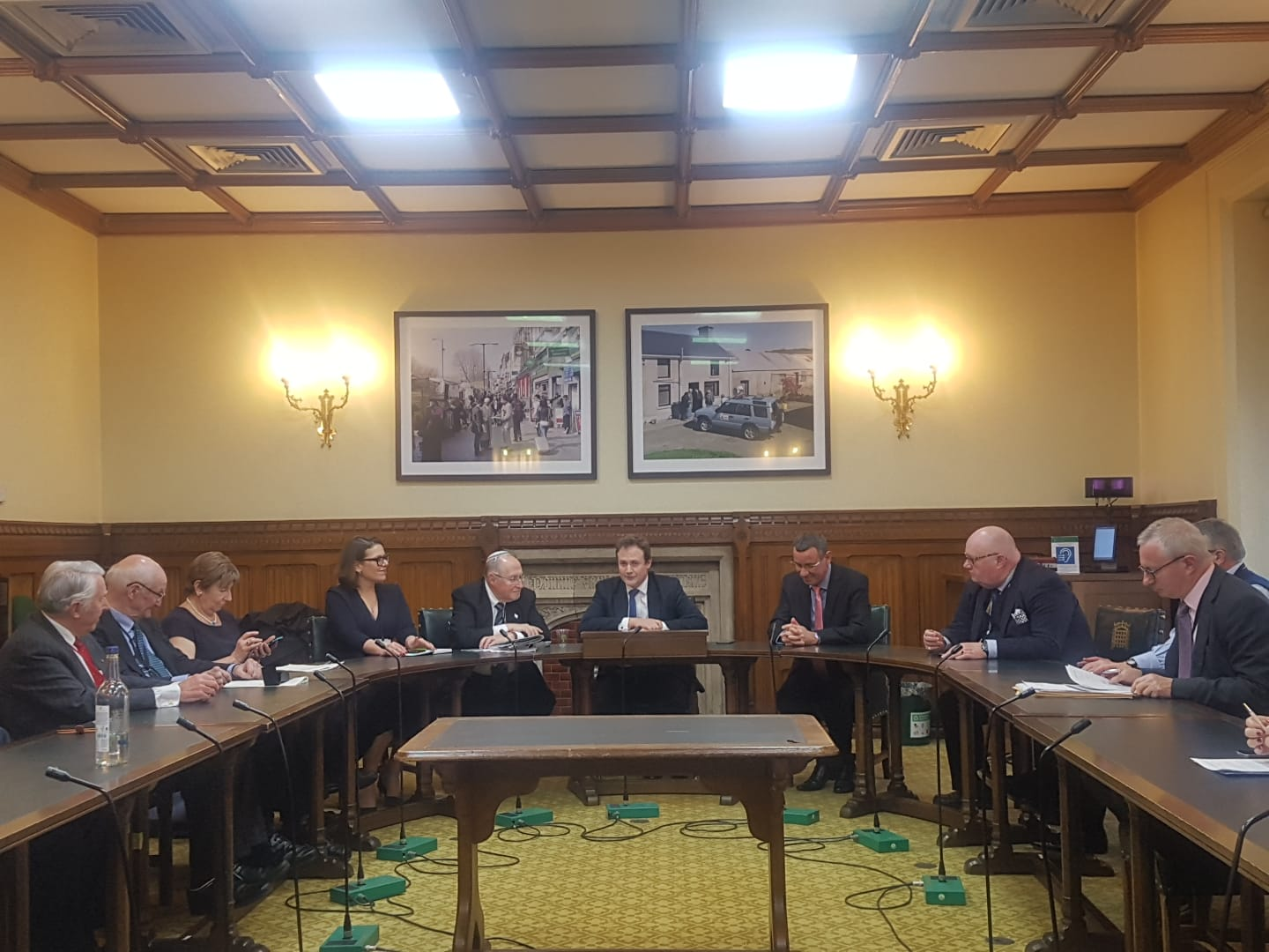 Former Vice President of Israel's Supreme Court addresses parliamentarians