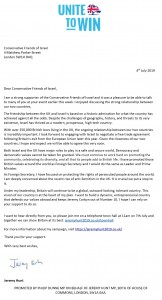 Jeremy hunt letter actual final