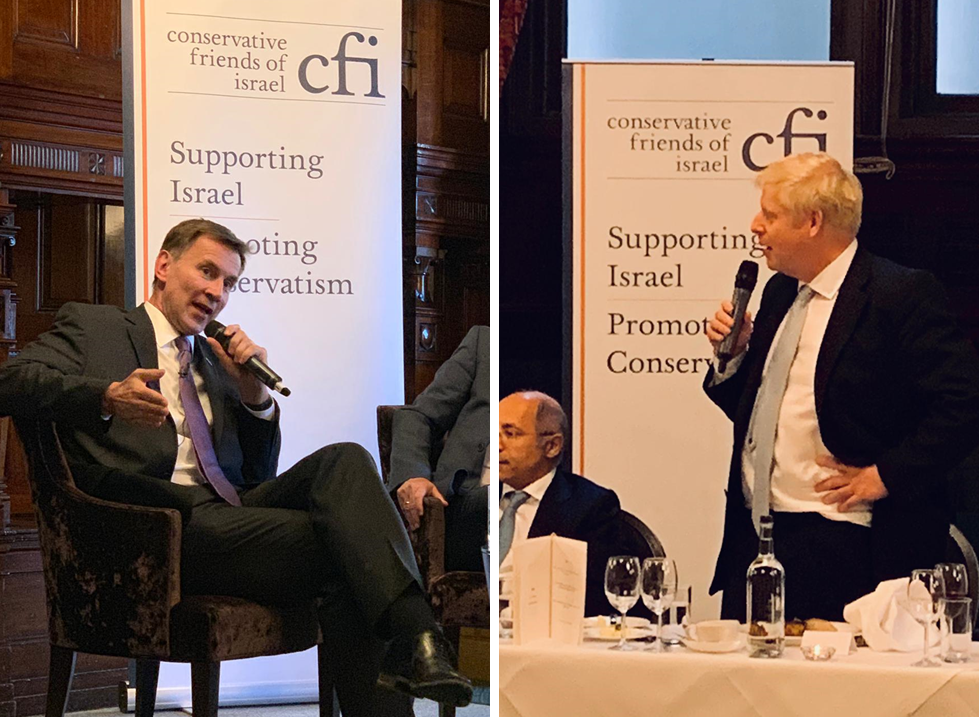 CFI hosts leadership hustings with Boris Johnson and Jeremy Hunt