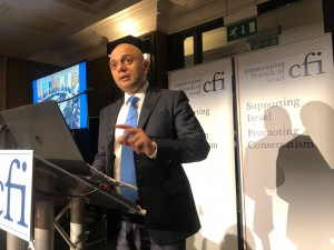 Sajid Javid - CFI Conference Reception 2019