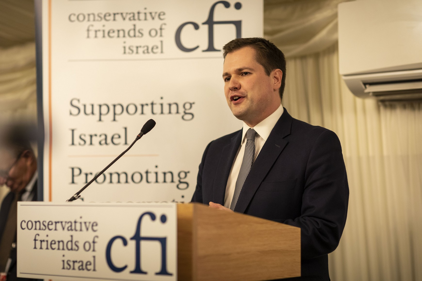 "Communities Secretary Robert Jenrick hails ""incredible achievement"" of the State of Israel at CFI Parliamentary Reception"