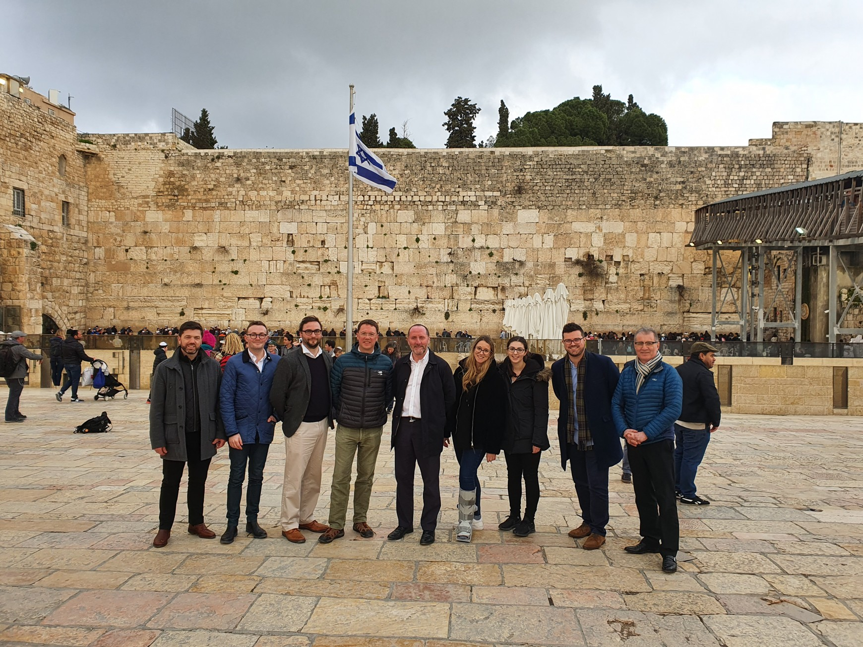 February 2020: CFI coordinates Parliamentary Delegation to Israel