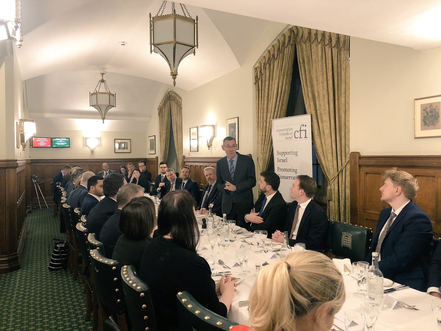 Over 40 Conservative MPs meet with Israel's Ambassador