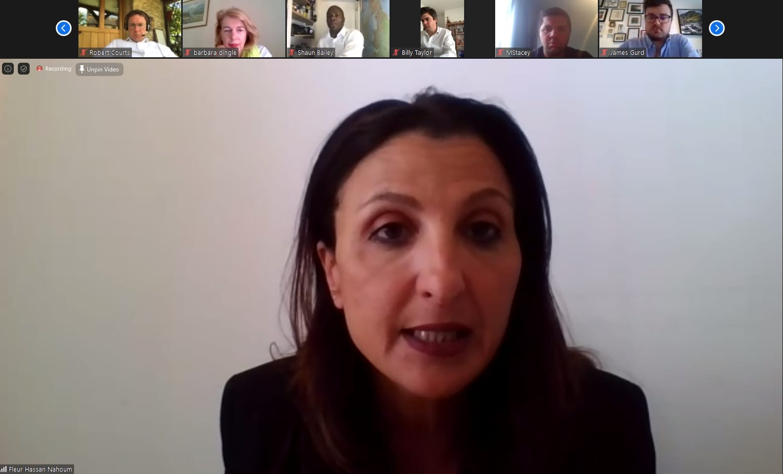 CFI hosts webinar with Deputy Mayor of Jerusalem, Fleur Hassan-Nahoum