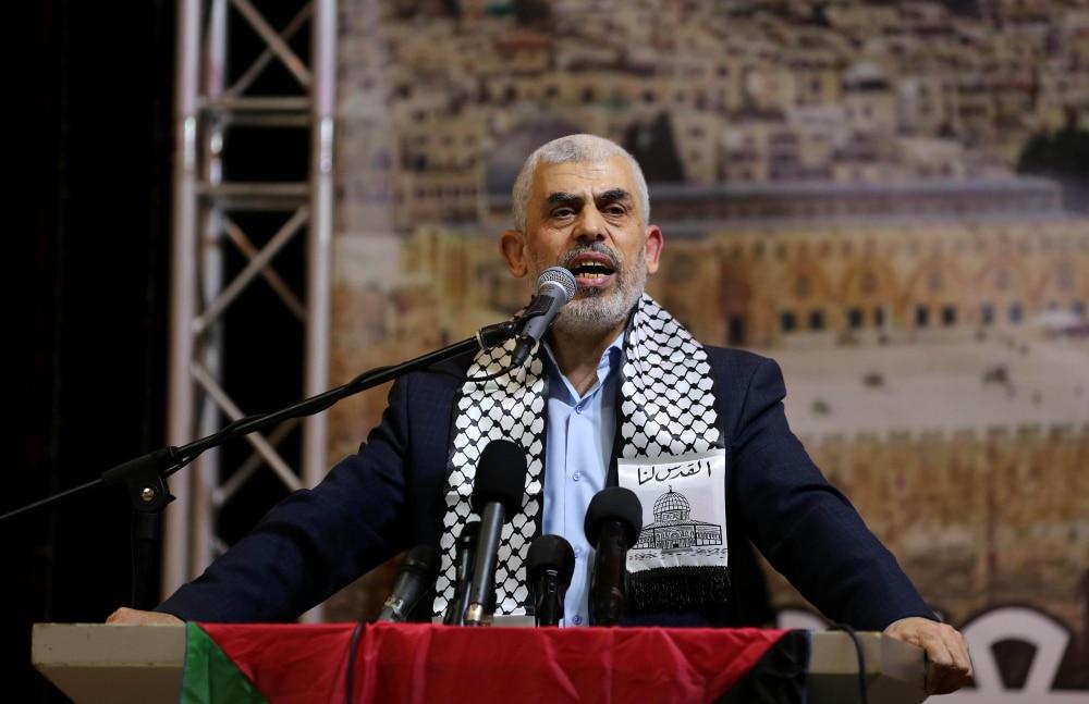Hamas leader Sinwar: 'God has decreed that we must attack Tel Aviv'